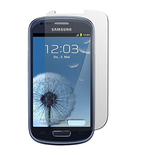 PhoneNatic 4er-Pack Displayschutzfolien klar kompatibel mit Samsung Galaxy S3 Mini