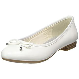 Marco Tozzi Damen 22137 Geschlossene Ballerinas, Weiß (White), 40 EU