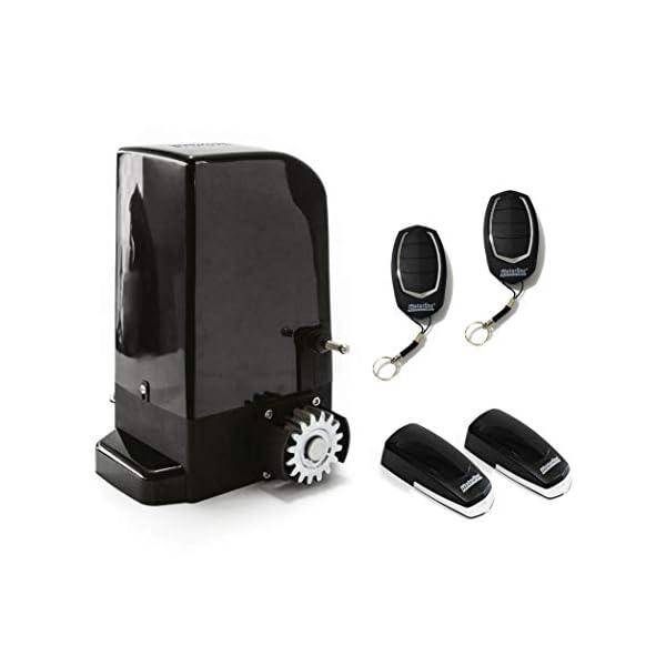 KIT-Motor-corredera-Bravo-500-Kg-para-automatizar-puertas-y-cancelas-correderas-de-uso-residencial-parking-garaje-cochera-alta-calidad-con-2-mandos-y-sensor-foto-elctrico-de-seguridad