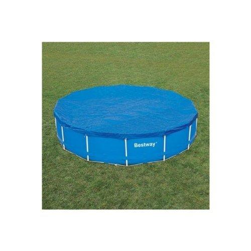 Bache de protection pour piscine ronde tubulaire 4,57m - bestway 58038