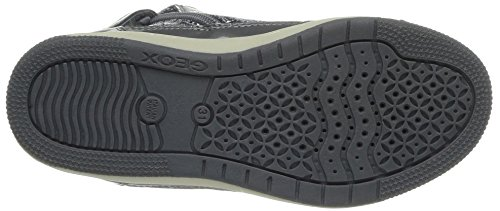 Geox Jr Creamy, Sneaker a Collo Alto Bambina Grigio (Grau (GREYC1006))