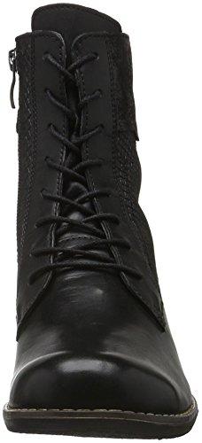 Caprice 25150, Bottes Rangers Femme Noir (Black Comb 19)