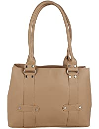 Women's Casual Handbag By Raleigh, Style Shoulder Bag, Elegant & Eye Catching Suitable For Every Occasion (Beige)