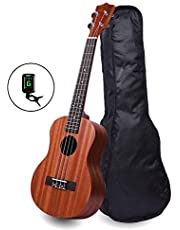 Kadence Wanderer Brown Soprano Ukulele with Bag