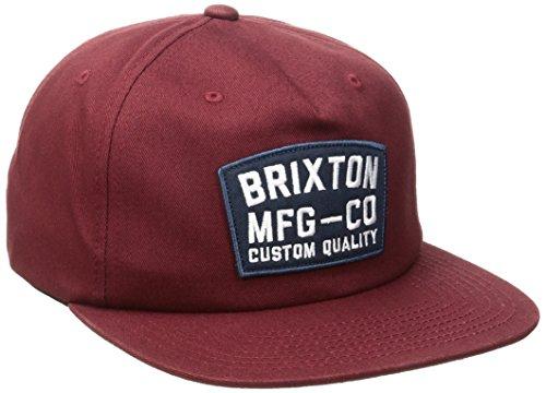 Brixton National Snapback Casquette pour Homme, Homme, National Snapback