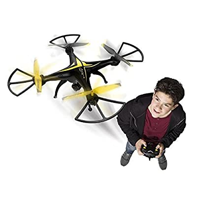 Spy Racer Kids Quadcopter Drone with integrated Gyroscope for perfect control, Headless mode & Built-in camera for taking pictures or videos from Spy Racer