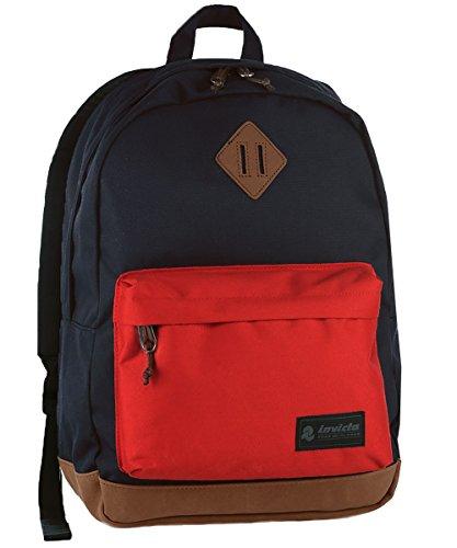 Invicta Round Pack, zaino da 27 litri per la scuola con tasca porta PC