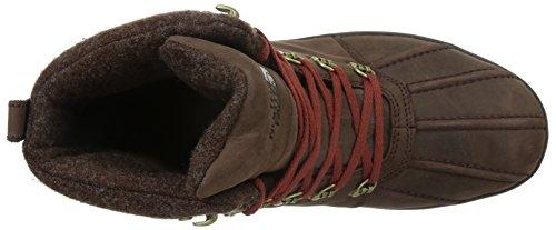 The North FaceM Ballard Duck Boot - Stivali di protezione  Uomo Butter Rum Brown/Brixk House Red