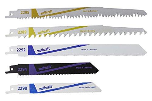 Wolfcraft 3599000 Säbelsägeblätter