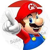 Tortenaufleger Super Mario1 / 20 cm Ø/Lieferung 2 bis 5 Werktage