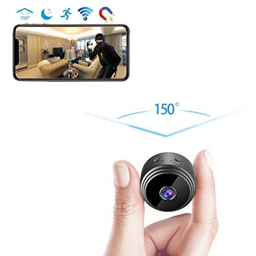 Tookne Spy Camera Wireless Hidden WiFi Camera Mini HD 1080P Telecamere di Sicurezza Domestica Telecamera Nascosta Telecamera Piccola Videoregistratore Motion Activated/Night Vision