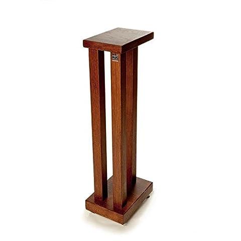 Hi-Fi Racks Podium Slimline Speaker Stands (Pair) 700mm - Walnut Finish