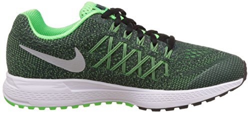 Nike Zoom Pegasus 32 (Gs), Chaussures Multisport Outdoor mixte enfant Multicolore (Obsidian/Mtllc Silver-Vltg Grn)