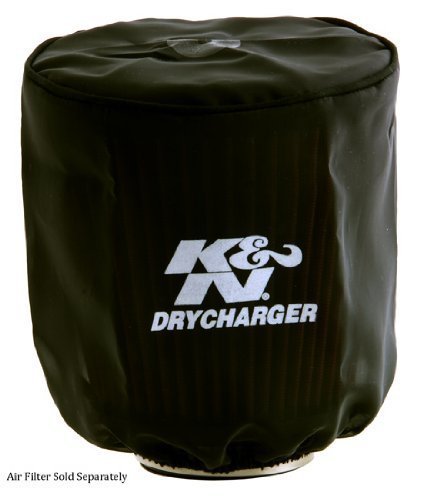 Drycharger Air Filter Wrap (K&N RX-3810DK Black Drycharger Air Filter Wrap by K&N)