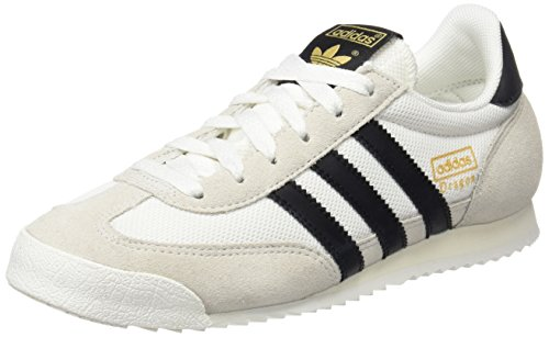 adidas Unisex-Erwachsene Dragon Low-Top Weiß (Vintage core Black/Off White), 36 2/3 EU