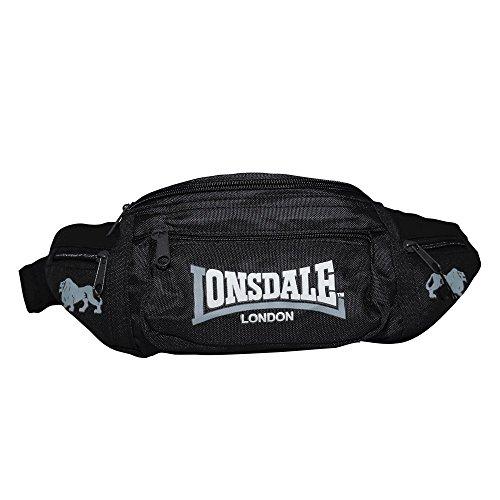 Lonsdale Bauchtasche Hip schwarz/grau Schwarz/Grau