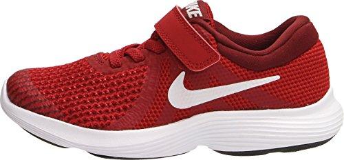 Nike Revolution 4 Sneakers Rosso Scarpe Bambino Bambina 943305-601 - 31 EU