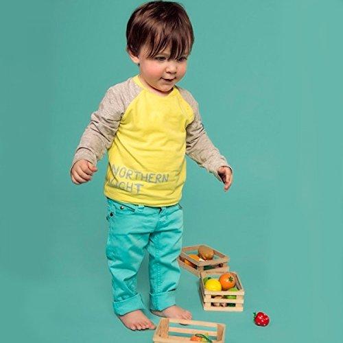 Imps & Elfs Baby Jungen (0-24 Monate) Jeanshose blau blau Gr. 74 cm, blau -