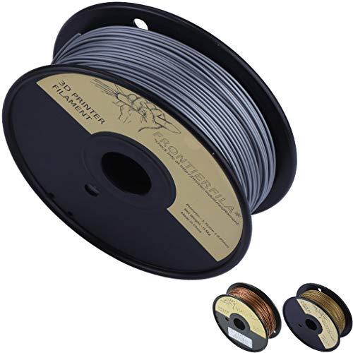Aluminio en PLA 0.5kg 1.75mm - Filamento para impresora 3D - FrontierFila