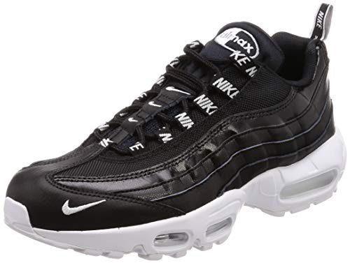 new product 34a40 70907 Nike Air Max 95 Premium 538416-020, Sneaker Uomo, Schwarz (Black)