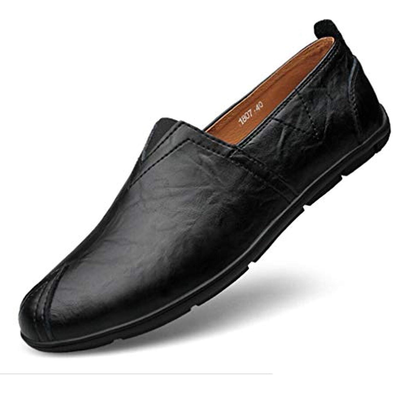 Chaussures pour Hommes, Printemps Automne Chaussures de Conduite en eacute;contract Cuir d eacute;contract en eacute; Mocassins et Slip-Ons - B07G5CG4DZ - 8a8c63
