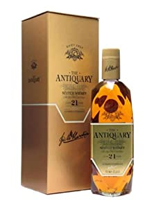 Antiquary 21 Year Old / Gold Box / 70cl by Antiquary