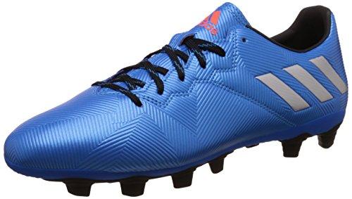 Adidas Messi 16.4 Fxg, Scarpe da Calcio Allenamento Uomo, Multicolore (Shoblu/Msilve/Cblack), 41 1/3 EU