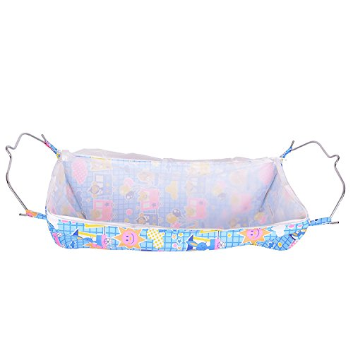 WESTTURN Round Bed Soft Cloth Swing New Born Baby Cradle/Ghodiyu Hammock in Cool Cotton With Mosquito Net sun print  available at amazon for Rs.349