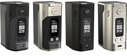 Wismec Reuleaux RX300 300W Vaporizer Mod Full Vape Kit Verdampfer Battery Box Flip-open Cell