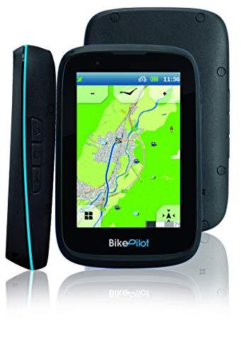 BikePilot ²+ Blaupunkt Bicicleta,Bicicleta,Senderismo,Sistema de navegación GPS al Aire Libre,Pantalla capacitiva de...