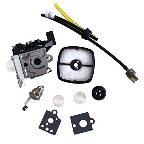Bescita6 - Kit di Manutenzione carburatore Repower per Echo Gt-225 Pe225 Srm225 Zama Rb-K93