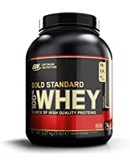 Optimum Nutrition Whey Gold Standard Protein, Double Rich Chocolate, 1er Pack (1 x 2273g)