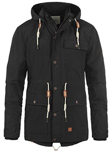 REDEFINED REBEL Magee Herren Jacke Übergangsjacke aus hochwertiger Materialqualität, Größe:M, Farbe:Black