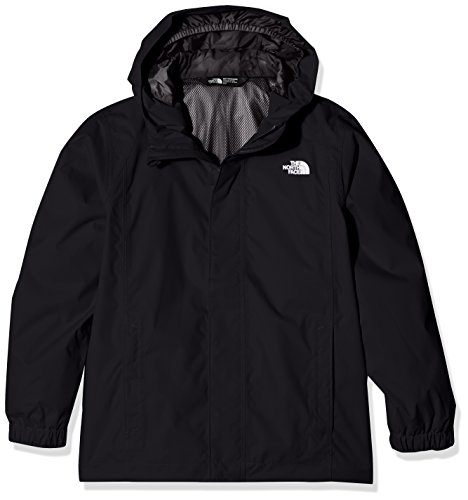 The North Face Waterproof Reflective Resolve Boys Outdoor Jacket available in TNF Black Size Large