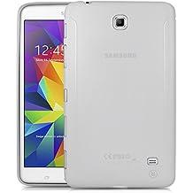 "Samsung Galaxy Tab 4 7.0"" Carcasa TPU Engomado Esmerilado – Minisuit para Samsung Galaxy Tab 4 7.0"", Transparente Mate"