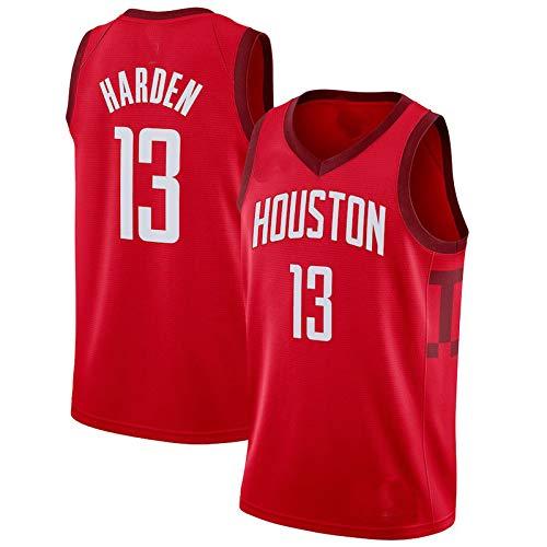 Herren-Basketballtrikots, NBA Houston Rockets #13 James Harden Sommerwesten Oberteile Ärmellose T-Shirts (Größe: S-XXL)