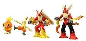 Takara Tomy Pokemon Monster Collection Méga-Évolution Pack Méga-Braségali
