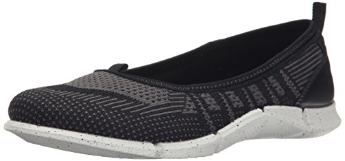 Ecco Intrinsic Karma Damen Mary Jane Halbschuhe Schwarz (BLACK/BLACK-DARKSHADOW/BLACK 59788)