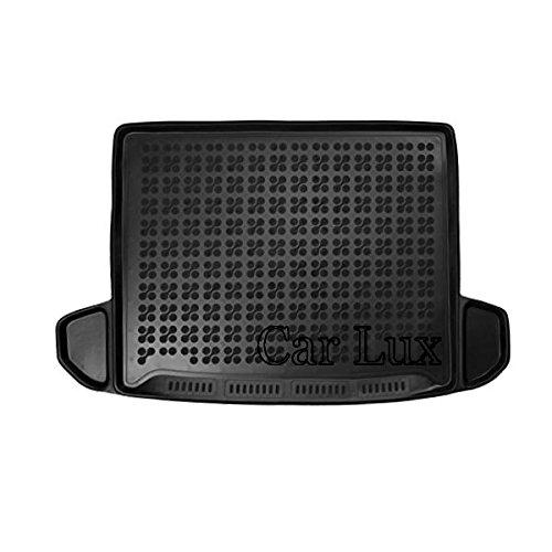 Car Lux AR03998 - Alfombra Cubeta Protector cubre aletero PREMIUM de goma caucho inodoro y enrollable