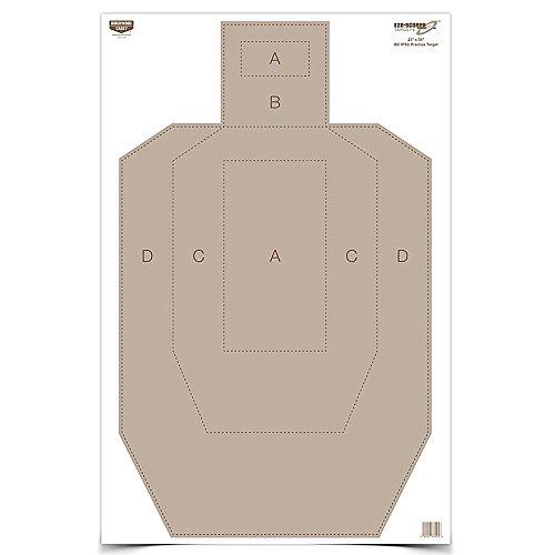 Birchwood Casey eze-Scorer IPSC Praxis Ziel (Pro 100), 23x 89cm - Ziel Ipsc
