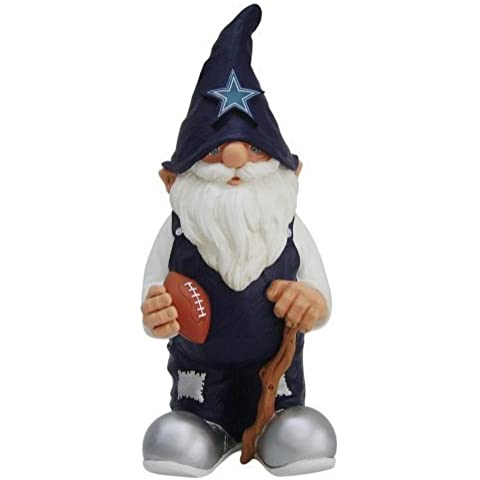 Dallas Cowboys NFL Garden Gnome Estatuilla