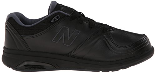New Balance Women's WW813 Walking Lace Shoe, White, 10 D US Black
