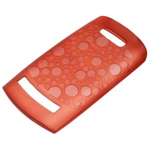 Nokia CC-1024 Tasche für Nokia Asha 303 transparent/rot
