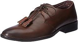 Blackberrys Mens Basil Tan Leather Formal Shoes - 10 UK/India (44 EU)