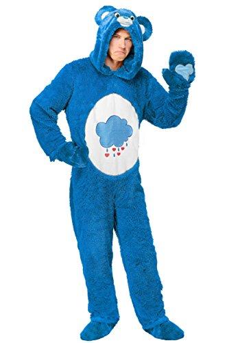 Adult Plus Size Care Bears Classic Grumpy Bear Fancy dress costume ()
