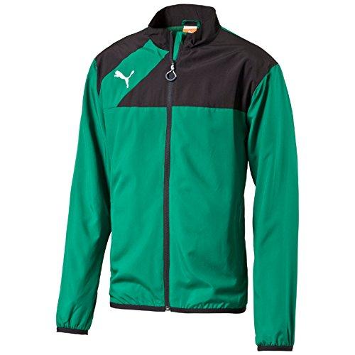 Puma Herren Woven Jacke Esquadra grün / schwarz