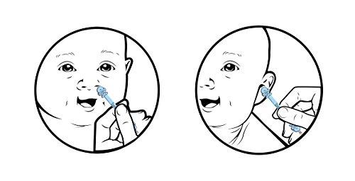 Bebon Angel – der bessere Nasenreiniger und Ohrenreiniger für Babys | Sichtbar wirksamer als Nasensauger/Nasensekretsauger - 6