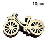 Denret3rgu 10pcs vélo Design vélo Couture Couture Scrapbooking Artisanat Bricolage décor d'art