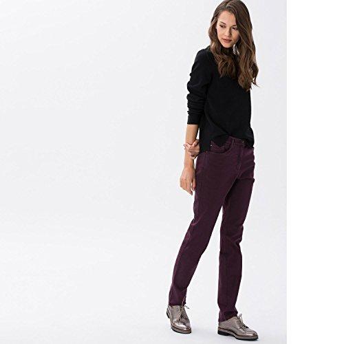 Brax Damen Slim Jeans Bx_mary Brillia Bordeaux