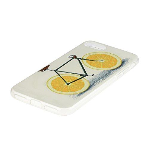 TPU für Smartphone Apple iPhone 7 (4.7 Zoll) Design - Schale Etui Protective Hartschale Backcover Case Schutzhülle Cover in Smartphone Apple iPhone 7 (4.7 Zoll) Stoßdämpfend Design Skin +Staubstecker  9